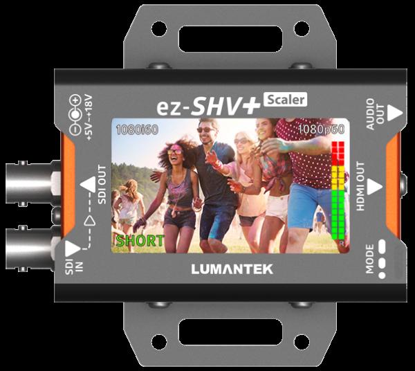ez-SHV+ SDI to HDMI Converter plus scaler Lumantek