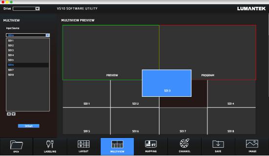 ez-VS10 Lumantek multiview